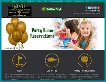 Merrimack Valley Pavilion Family Entertainment Center
