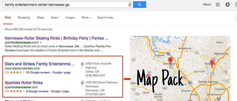 Google-Local-Pack-Results