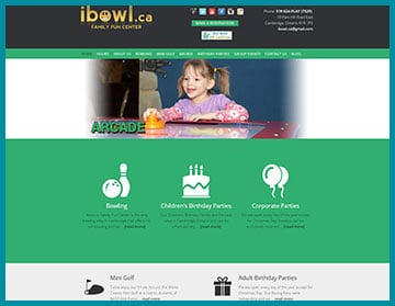 ibowl.ca family entertainment center