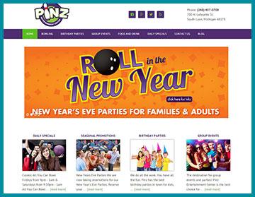 Pinz Entertainment Center
