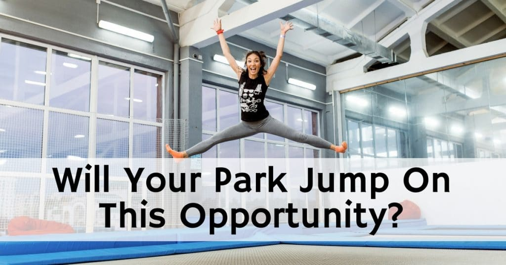 trampoline park internet marketing