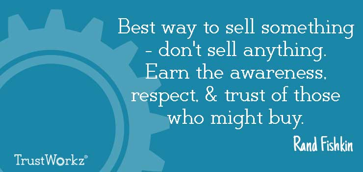Quote Rand Fishkin - Selling