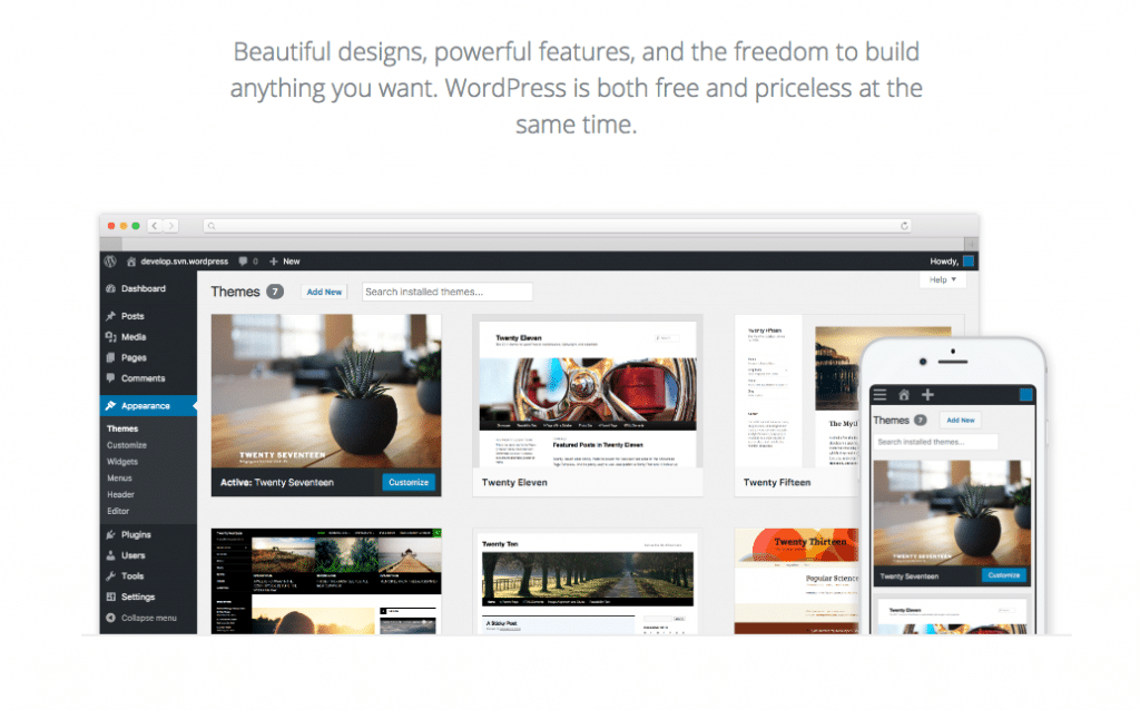 WordPress - Free Content Management System