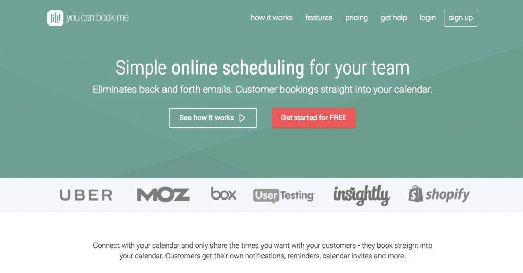 YouCanBook.me - Scheduling tool for businesses