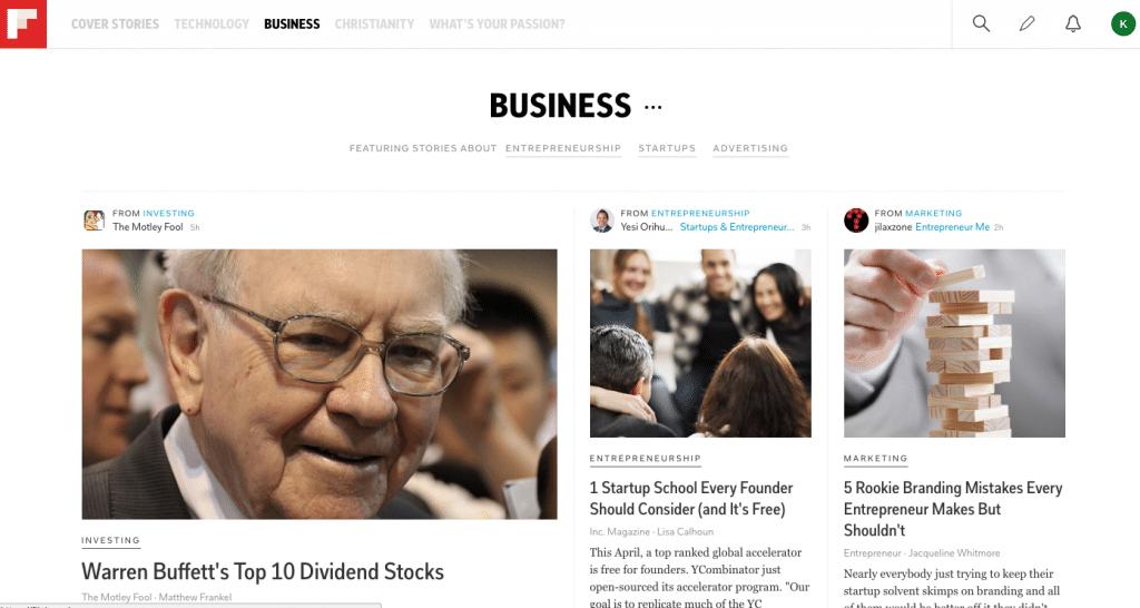Flipboard - Online Magazine