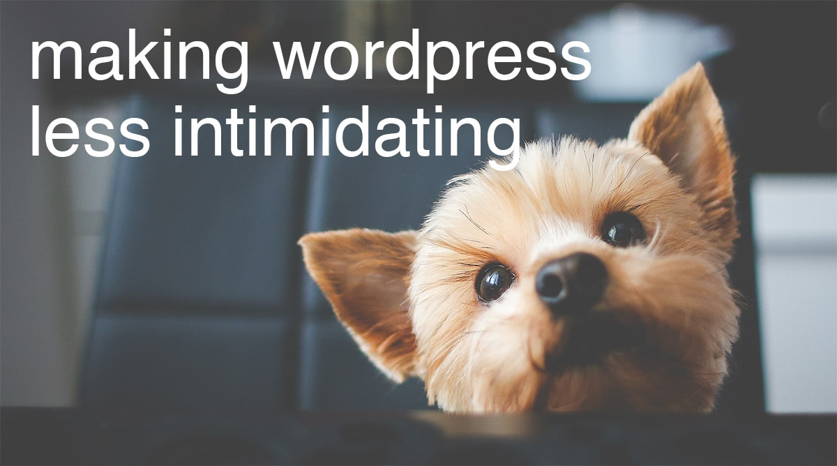 WordPress Plugin Intimidation