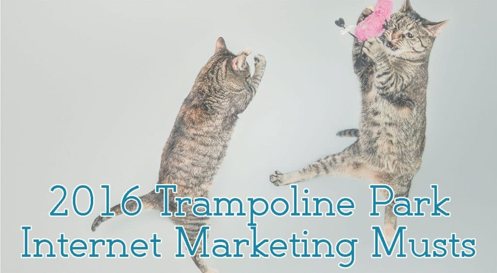 trampoline park Internet marketing