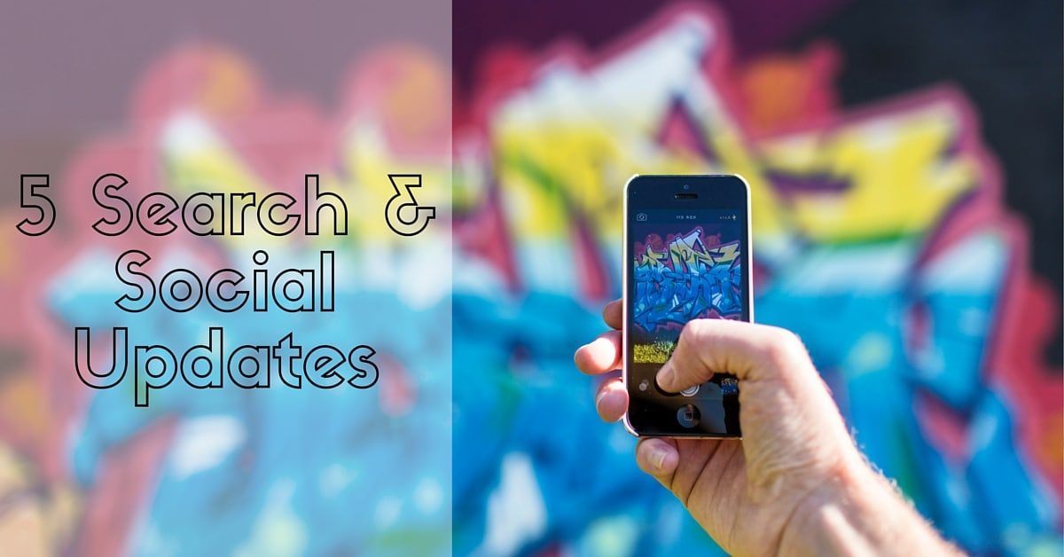 2016 Search and Social Media Updates