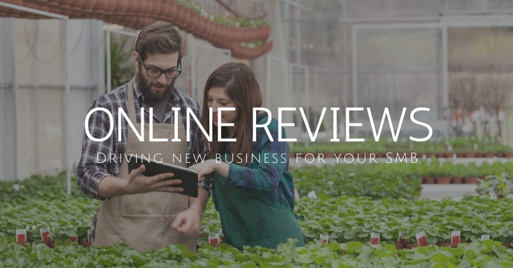 Online reviews for small business