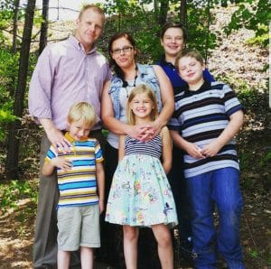 Rodney Moody Family