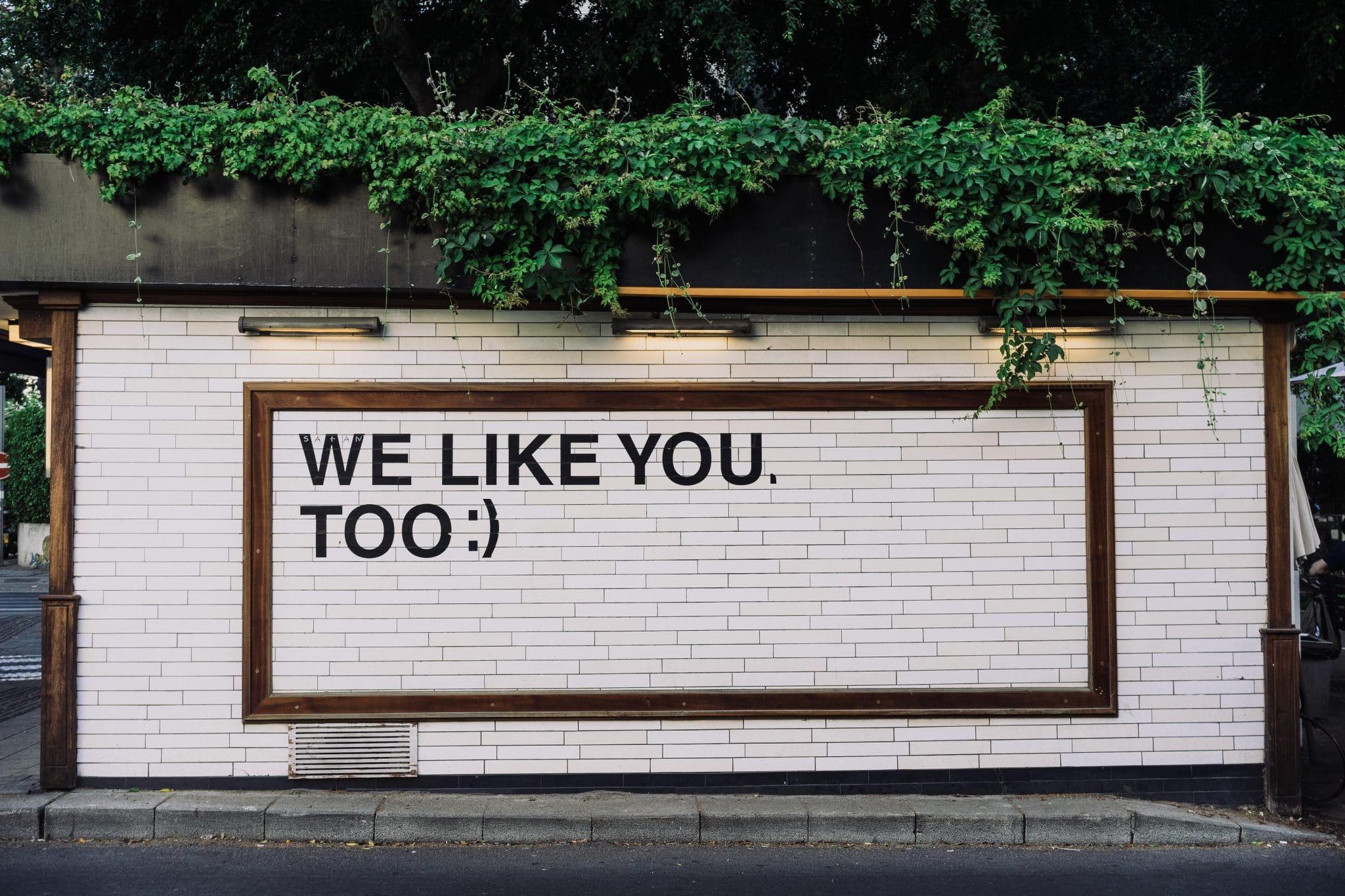we like you too - reputation management