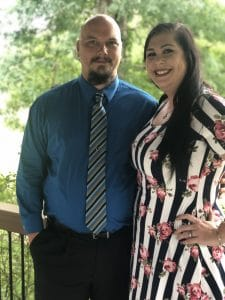 couple dressed up