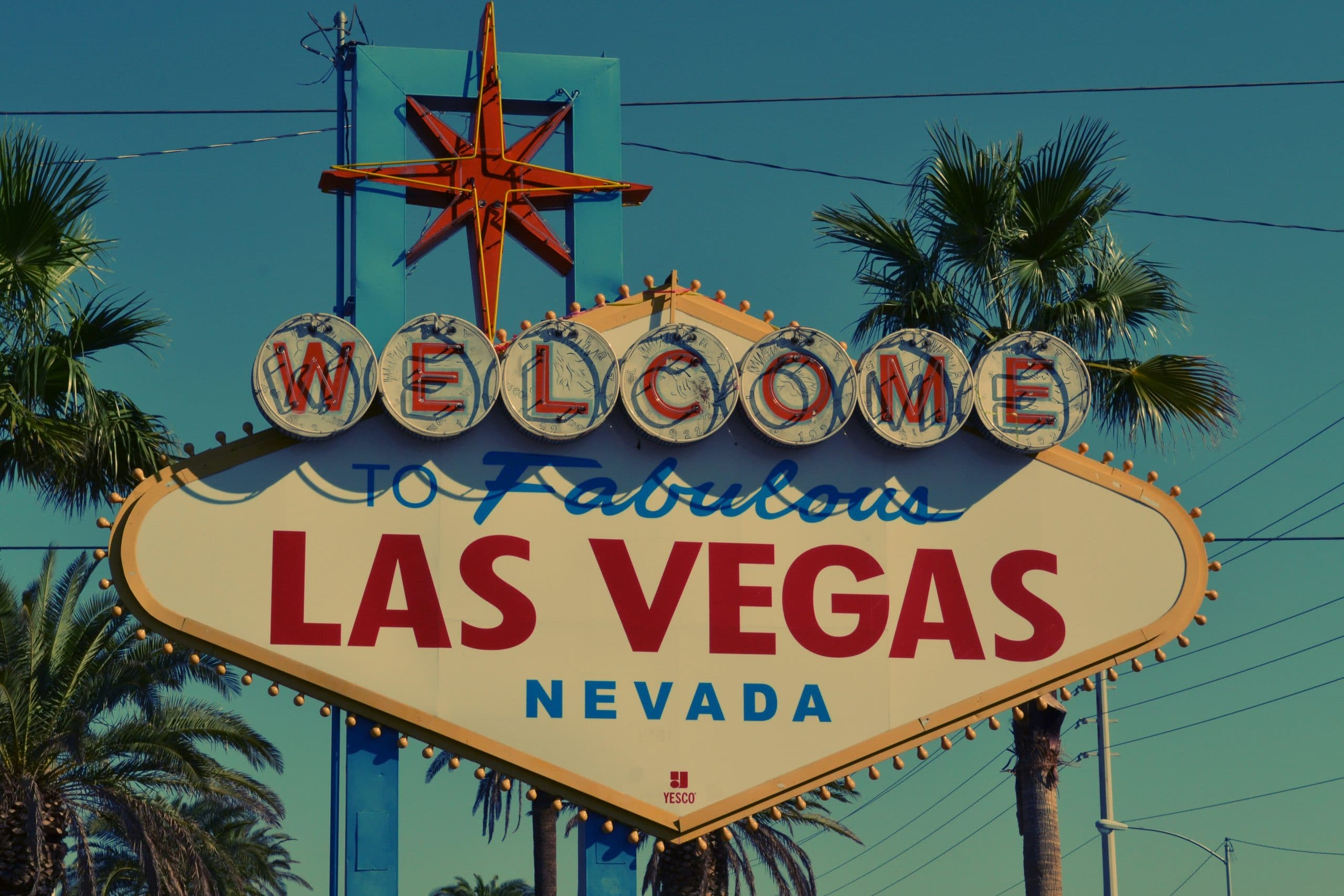 """Photo of the """"Welcome to Las Vegas"""" sign"""